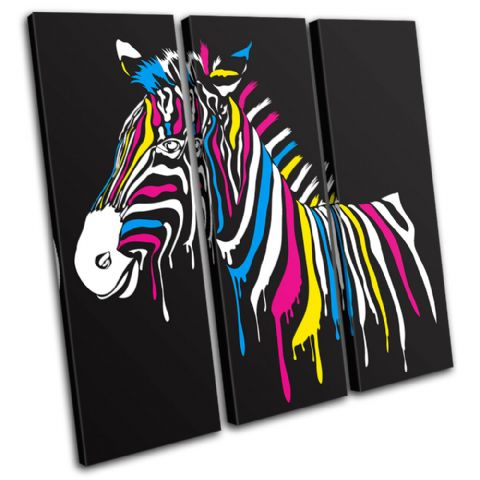 Abstract Zebra Animals - 13-0463(00B)-TR11-LO